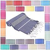 Towel Set 3 Pieces Variety - Classic Turkish Peshtemal Towel 100% Cotton 39 ...
